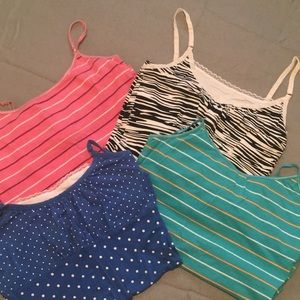 4 for $5 Patterned Camis